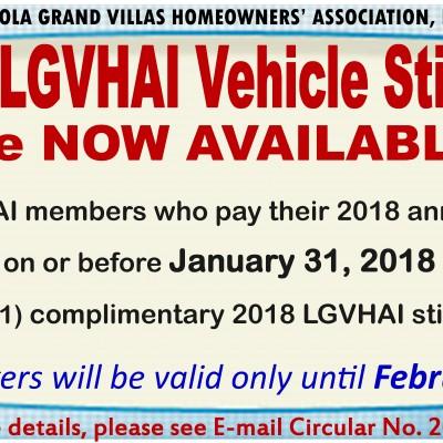 LGVHAI Vehicle Stickers
