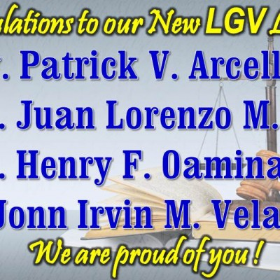 New LGV Lawyers!