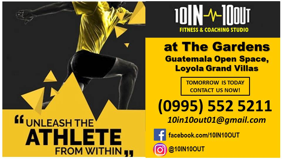 10 IN 10 OUT Fitness and Coaching Studio